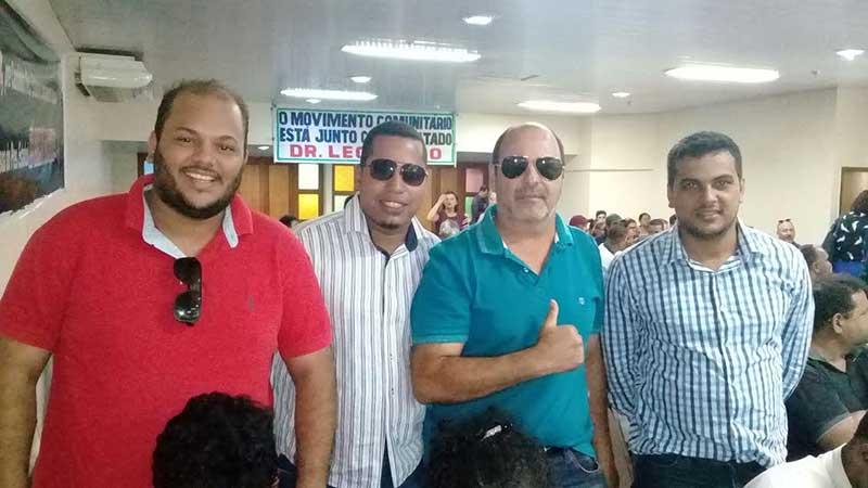De Porto Estrela, Eduardo Batista,chefe do Ciretran de Barra do Bugres, Robson dos Santos, do Indea Augusto (Tigão) César e Fernando (Marcha lenta).