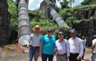 Quintão, Hélio, Zedeca e Rogério conhecem projetos de PCHs da Brennand em Tangará