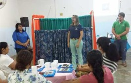 SMEC de Barra do Bugres realiza oficina de fantoches para professores da rede municipal