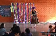 Evento de contação de histórias foi destaque no fim de semana em Tangará