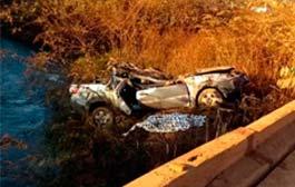 Pai e filho morrem em acidente em Mato Grosso; mãe e irmão ficam feridos
