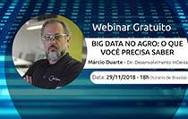 """InCeres promove Webinar """"Big Data no agro: o que você precisa saber"""""""