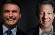 Jair Bolsonaro e Fernando Haddad disputarão 2º turno na eleição presidencial
