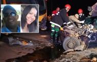 Casal morto em colisão entre Saveiro e ônibus de universitários é identificado