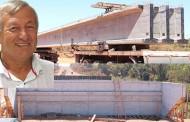 PORTO ESTRELA: Pontes sobre os córregos Saloba e das Onças estão em adiantada fase de construção