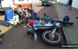 Tangará: Sob suspeita de embriaguez, motociclista sofre queda e é arrastado por cerca de 30 metros
