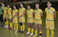 Segunda rodada da Copa de Futsal Feminino acontece neste sábado com dois jogos