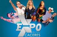 EXPOCÁCERES: com grandes nomes da música nacional, começa nesta quarta (8) a maior Exposição de Cáceres