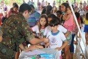 Porto Estrela: Exército realiza atividades sociais