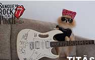 Guitarra autografada pelo Titãs vai a leilão para ajudar pacientes com câncer