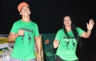 Cultura de Nova Olímpia realizou na quinta-feira (08) Projeto Zumba ao ar livre