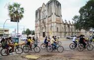 Passeio Ciclístico arrecada 2 toneladas de alimentos em Cáceres
