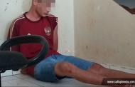 Jovem de SP é preso em Tangará após atacar Policial usando faca