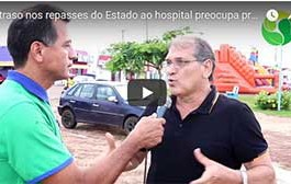 Atraso nos repasses do Estado ao hospital de Barra do Bugres preocupa prefeito