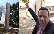 Distrito Curupira necessita de nova caixa d'água
