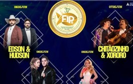Abertura do Fipe e oficializada com grade de shows nacional