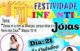 PORTO ESTRELA: Igreja Assembleia de Deus realizará evento voltado às crianças no próximo domingo