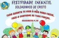 Igreja 'Só o Senhor é Deus' promoverá programação festiva para criançada no próximo domingo
