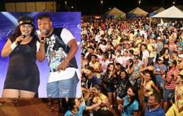 Bandas Eduardo Lima e Eskema C3 animaram primeira noite do Carnavaolímpia
