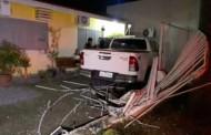 Idoso perde controle de veículo e invade casa em MT