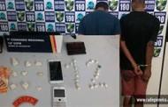 Dois são presos por suspeita de tráfico e associação para o tráfico em Barra do Bugres