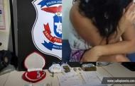 Tangará: mulher é presa por tráfico de drogas no Residencial Valência