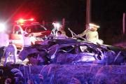 Morrem mãe e filha, vítimas do acidente ocorrido no início da noite de domingo na MT-343
