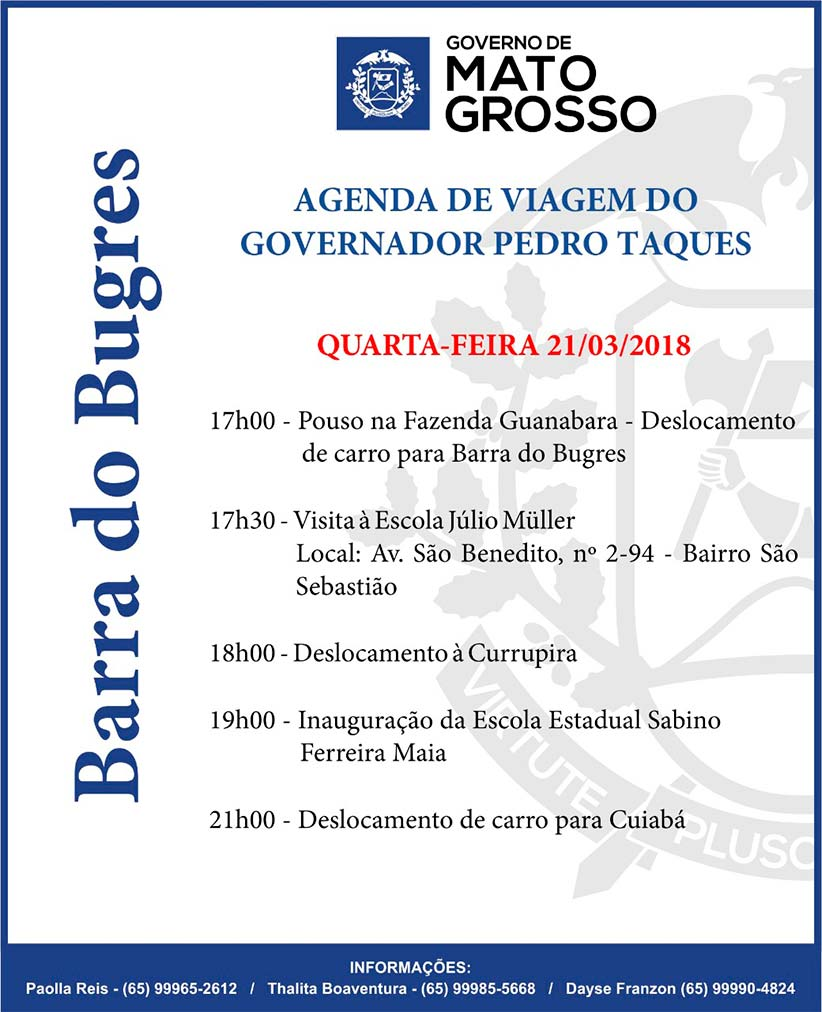Agenda-governador-Barra-do-Bugres
