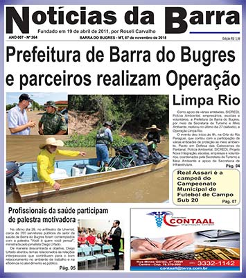 Capa-Edição-264--de-07-11-2018---N-da-Barra