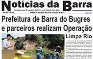 Jornal Notícias da Barra – Edição Nº 264– 07 de novembro de 2018