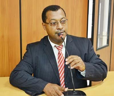 Presidente, vereador Domingos Oliveira dos Santos - Legislativo de Cáceres.