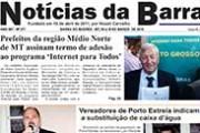 Jornal Notícias da Barra – Edição Nº 217 – 18 à 19 de março de 2018