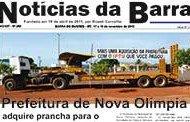 Jornal Notícias da Barra – Edição Nº 268 – 17 e 18 de novembro de 2018