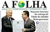 Jornal Folha do Médio Norte – Edição Nº 324 – 20 a 26 de junho de 2018