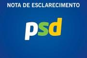 PSD: NOTA DE ESCLARECIMENTO
