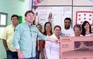 Banco de Sangue de Barra do Bugres é presenteado com um televisor novo