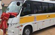Apae Campo Novo recebe novo ônibus; Investimento de R$ 310 mil