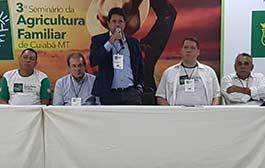 Técnicos da Empaer participam do Seminário da Agricultura Familiar em Cuiabá
