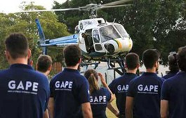 GAPE recebe instruções do Ciopaer durante treinamento