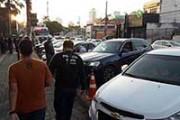 Seis motoristas são presos embriagados em Cuiabá em blitz realizada após jogo da Copa