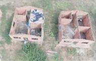 Obras de casas do 'Minha Casa, Minha Vida' estão abandonadas em Barra do Bugres (MT)