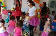 SMEC de Barra do Bugres promove festa alusiva ao Dia das Crianças