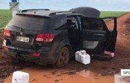 Grupo armado invade fazenda para roubar agrotóxicos e troca tiros com PMT