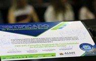 Assembleia entrega Certificado de Responsabilidade Social