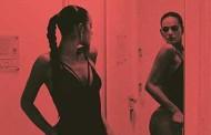 Bruna Marquezine sensualiza com puxadinha em body cavado e decotado