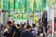 Shopping Popular esta no clima da Copa e venda de produtos verde e amarelo aumentam