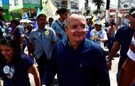 Arrastão pró-Taques toma conta do centro de Várzea Grande