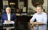Em 1º encontro, Mauro pede que Taques prorrogue fundo que rende R$ 450 mi ao Estado