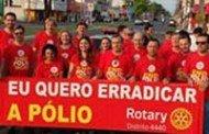 Pit Stop marcou Dia Mundial de Combate à Poliomielite em Tangará