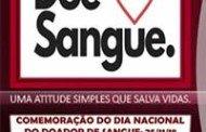 Barra do Bugres: Dia Nacional do Doador de Sangue é comemorado pelo banco de sangue de Barra do Bugres